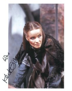 Kate O'Mara (Hammer Horror) - Genuine Signed Autograph 8277
